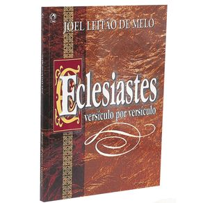 Eclesiastes---Versiculo-Por-Versiculo-