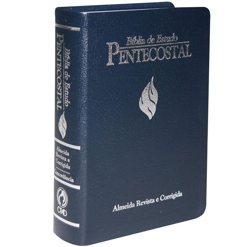 Bíblia de Estudo Pentecostal Média