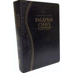 Biblia-de-Estudo-Palavras-Chave-Luxo-Preta--Classica-
