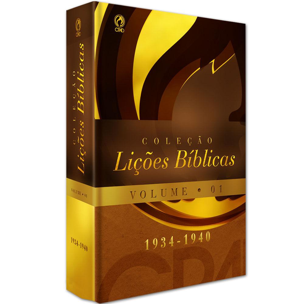 Colecao-Licoes-Biblicas--1934---1940----Volume-01