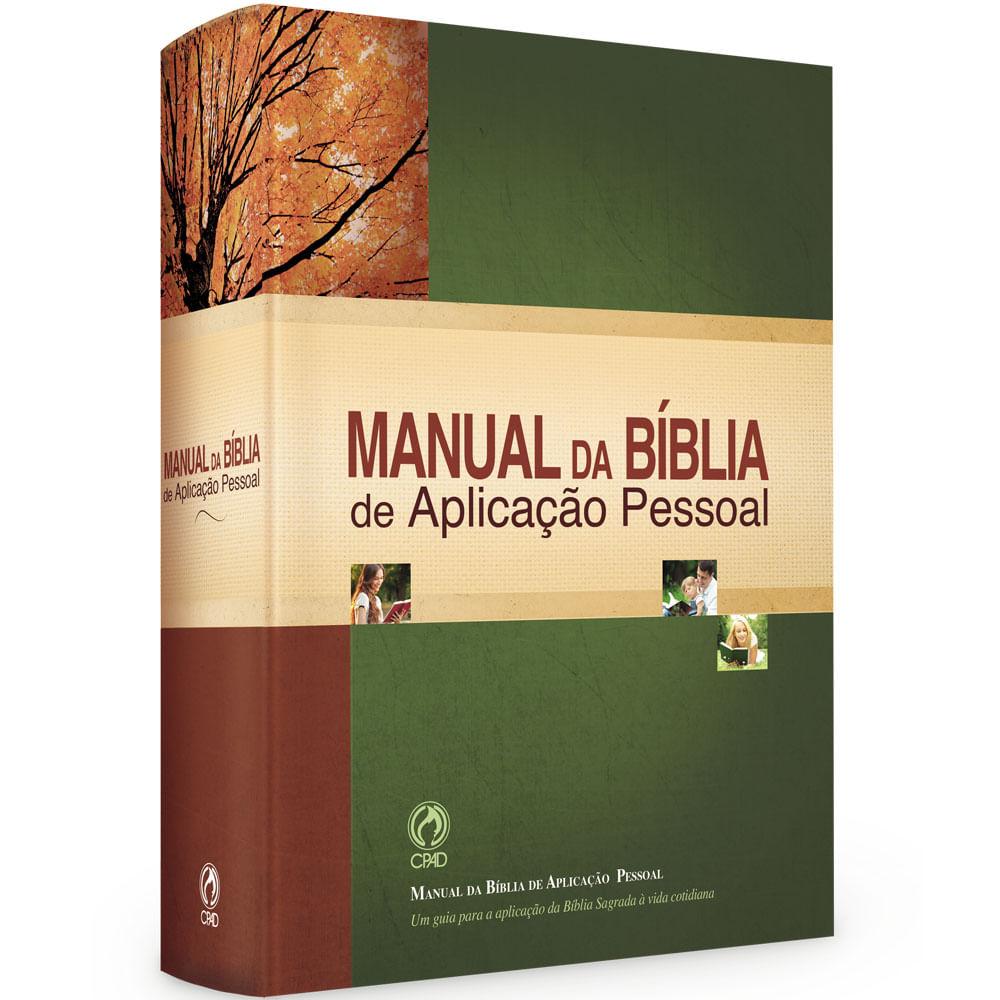 Manual da Bíblia Aplicação Pessoal
